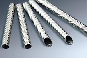 Threaded stainless steel tube