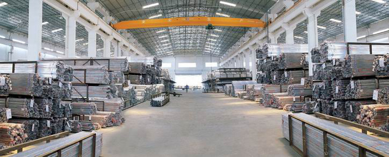 Stainless Steel Tube Warehouse A