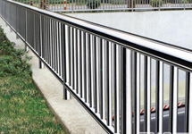 Stainless sheel round pipe fence